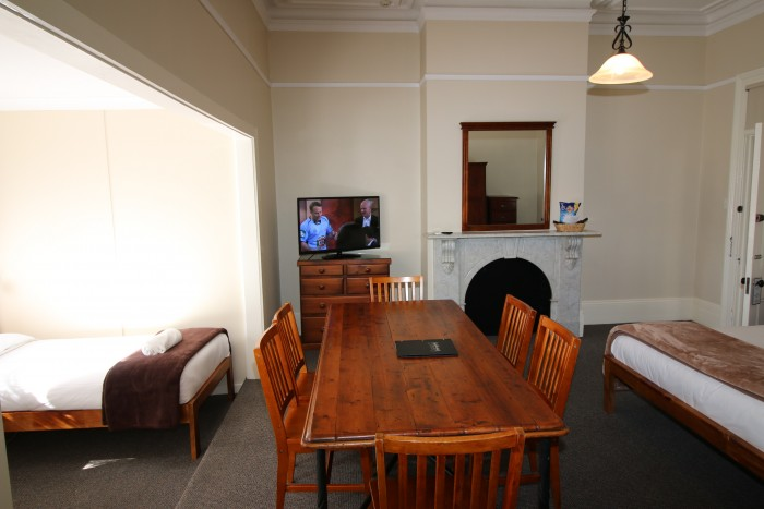 A unique room is set up and waiting for guests staying at the best place to stay in Armidale