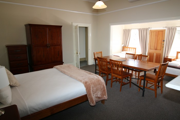 A stunning room is all ready for guest looking to stay at the best accommodation in Armidale