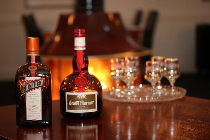 Liqueur options at Moore Park Inn