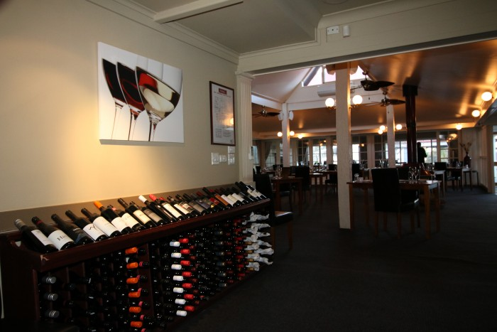 A huge selection wines on offer at Archies on the Park Armidale restaurant.